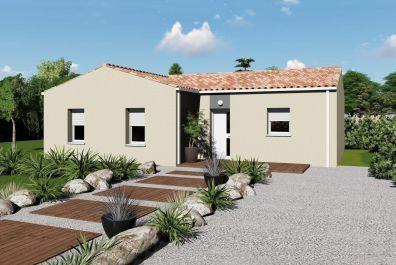 image offre-terrain-maison Maison 85.27 m² avec terrain à LES BILLAUX