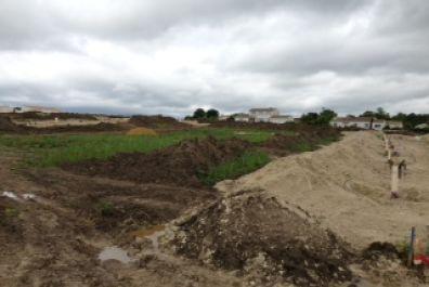 image terrain Terrain de 614 m² à SAINT-LAURENT-D'ARCE