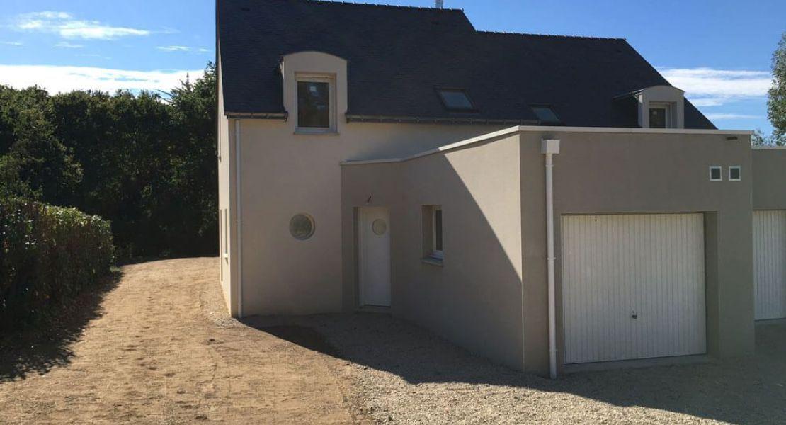 image Livraison d'une construction de maison neuve à ASSERAC (44)