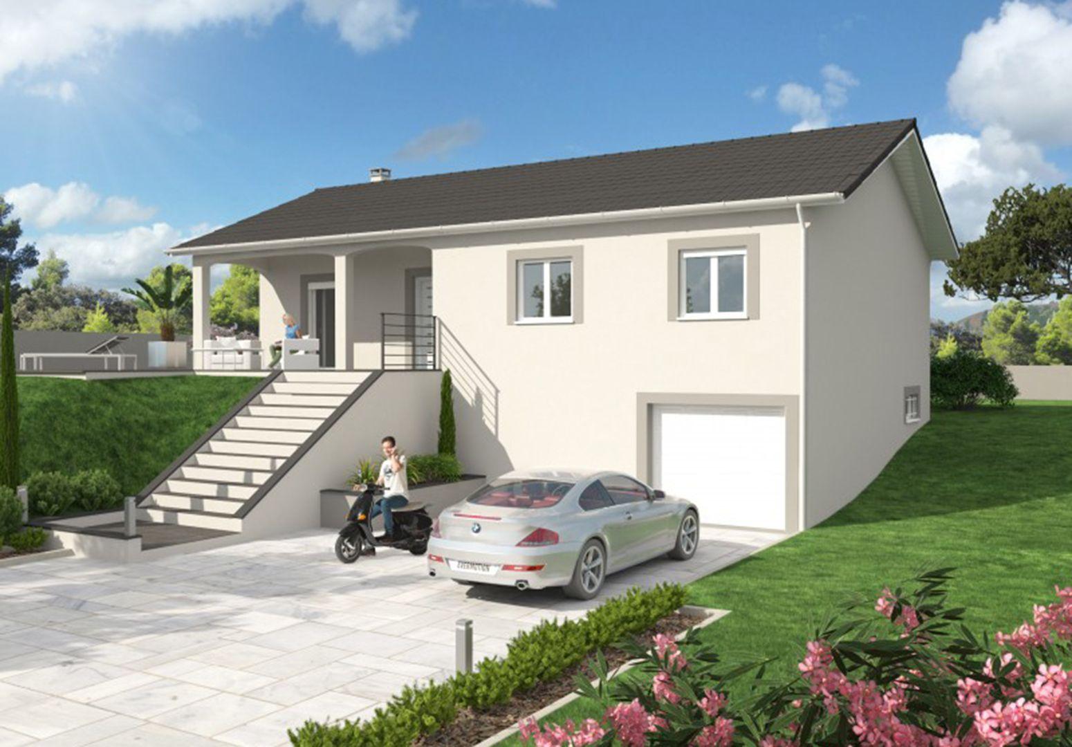 Maison 96.6 m² avec terrain à SAINTE-ANNE-SUR-GERVONDE (38) 1