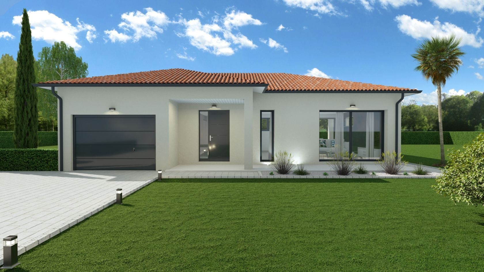 Maison 99.9 m² avec terrain à SAINTE-ANNE-SUR-GERVONDE (38) 1