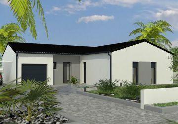 Modèle de maison AMBRE M 3CH 88