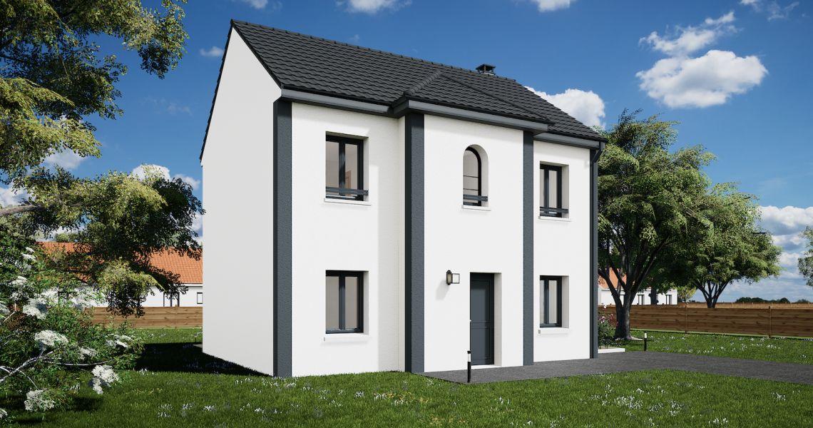 image Maison 101.72 m² avec terrain à HERBAULT (41)
