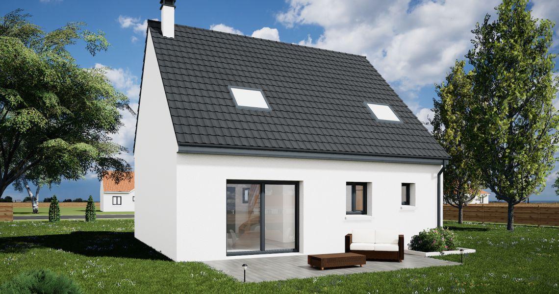 image Maison 95 m² avec terrain à NEUVY (41)