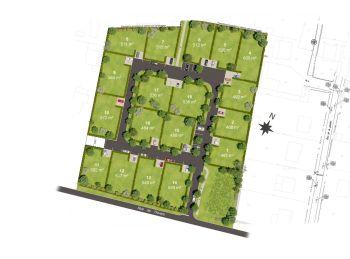 Photo du terrain à bâtir de 500m²<br> à VER-LES-CHARTRES (28)