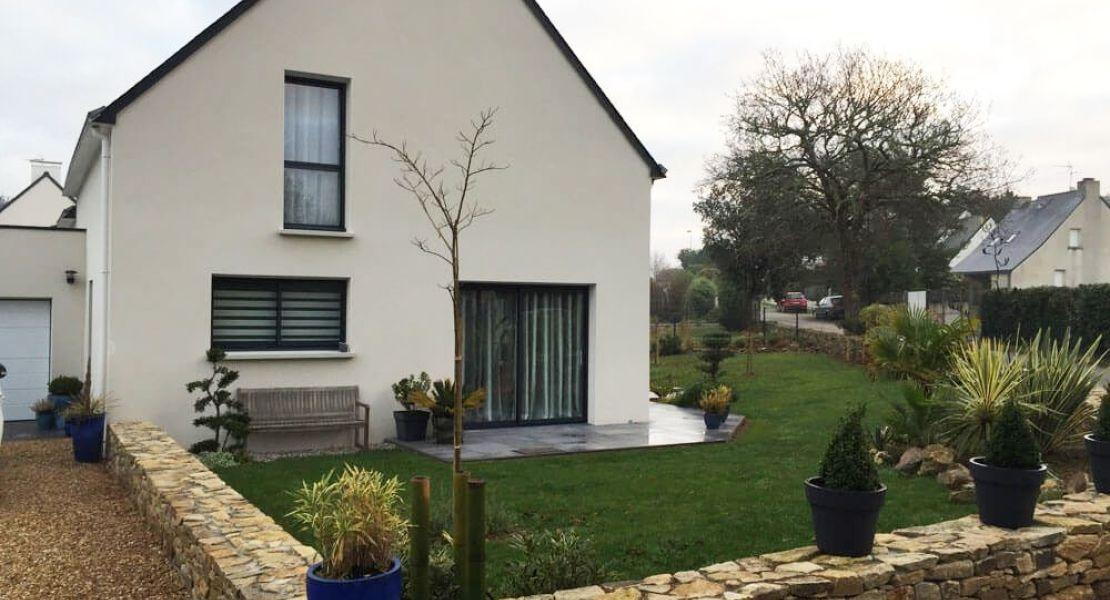 image Livraison d'une construction de maison neuve à SAINT-DOLAY (56)