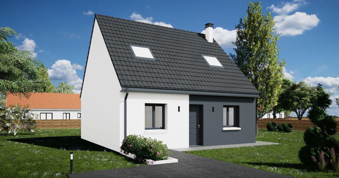 image Maison 90.23 m² avec terrain à FEINGS (41)