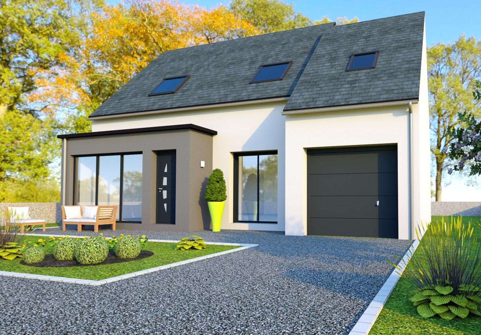 Image du modèle de maison CHÂTEAUBOURG 3CH 100