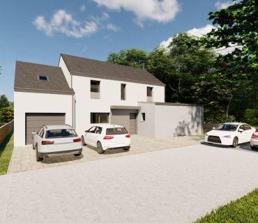 Maison 125 m² avec terrain à ROMILLE (35)