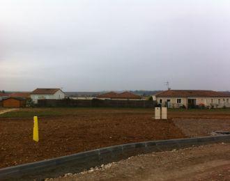 Photo du terrain à bâtir de 625 m² <br><span>CISSE(86)