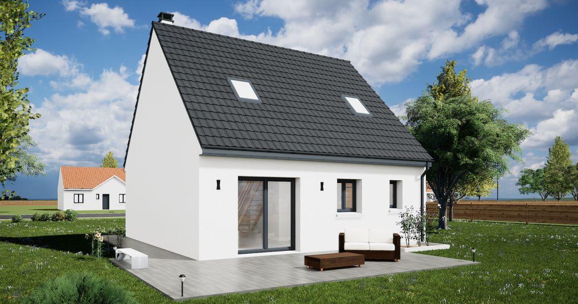 image Maison 90.23 m² avec terrain à TRAINOU (45)