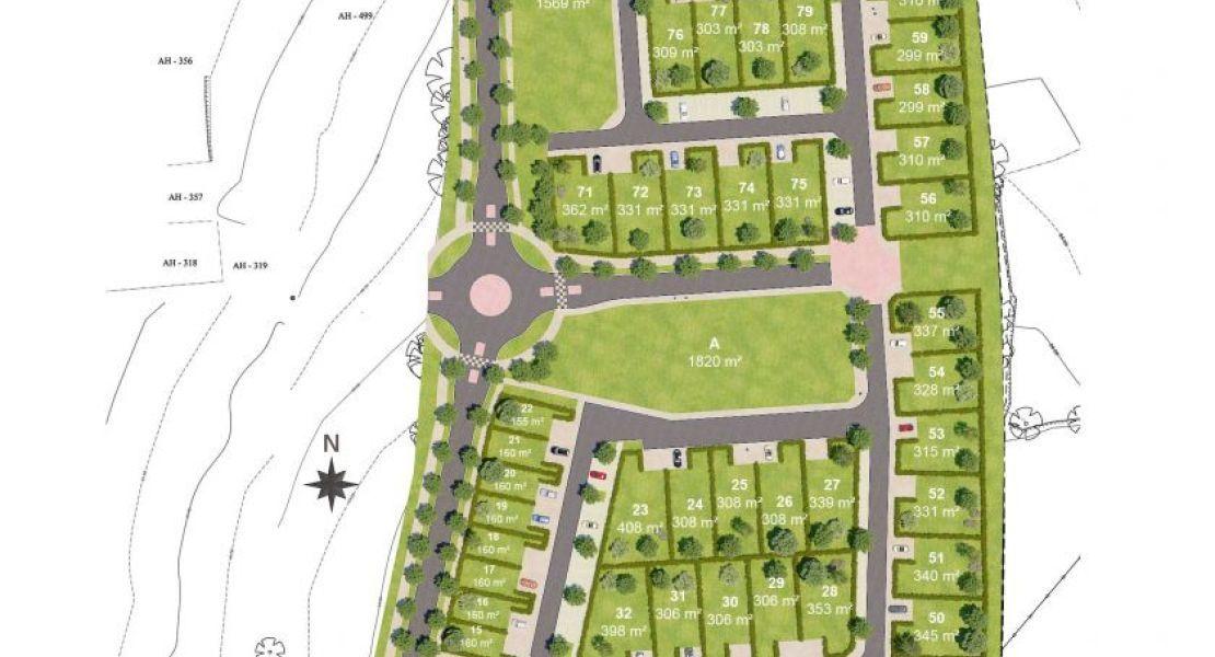 image Terrain à bâtir de 308 m² à COMBOURG (35)