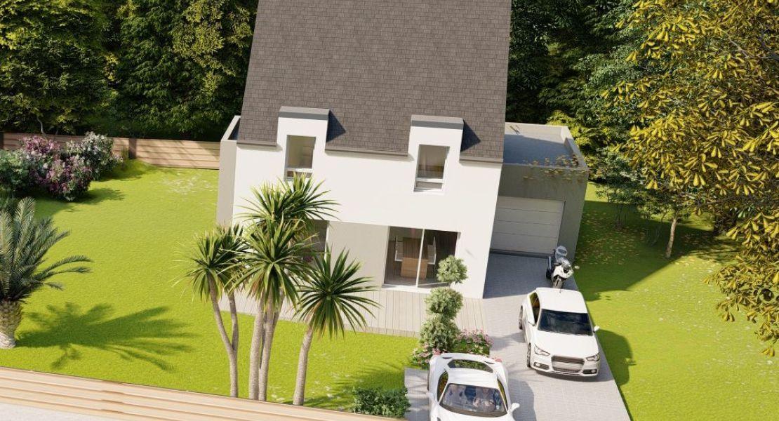 image Maison 110 m² avec terrain à PETIT-MARS (44)