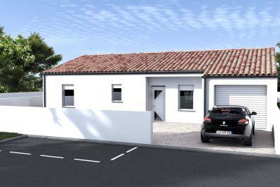 image offre-terrain-maison Maison 93.35 m² avec terrain à LES BILLAUX