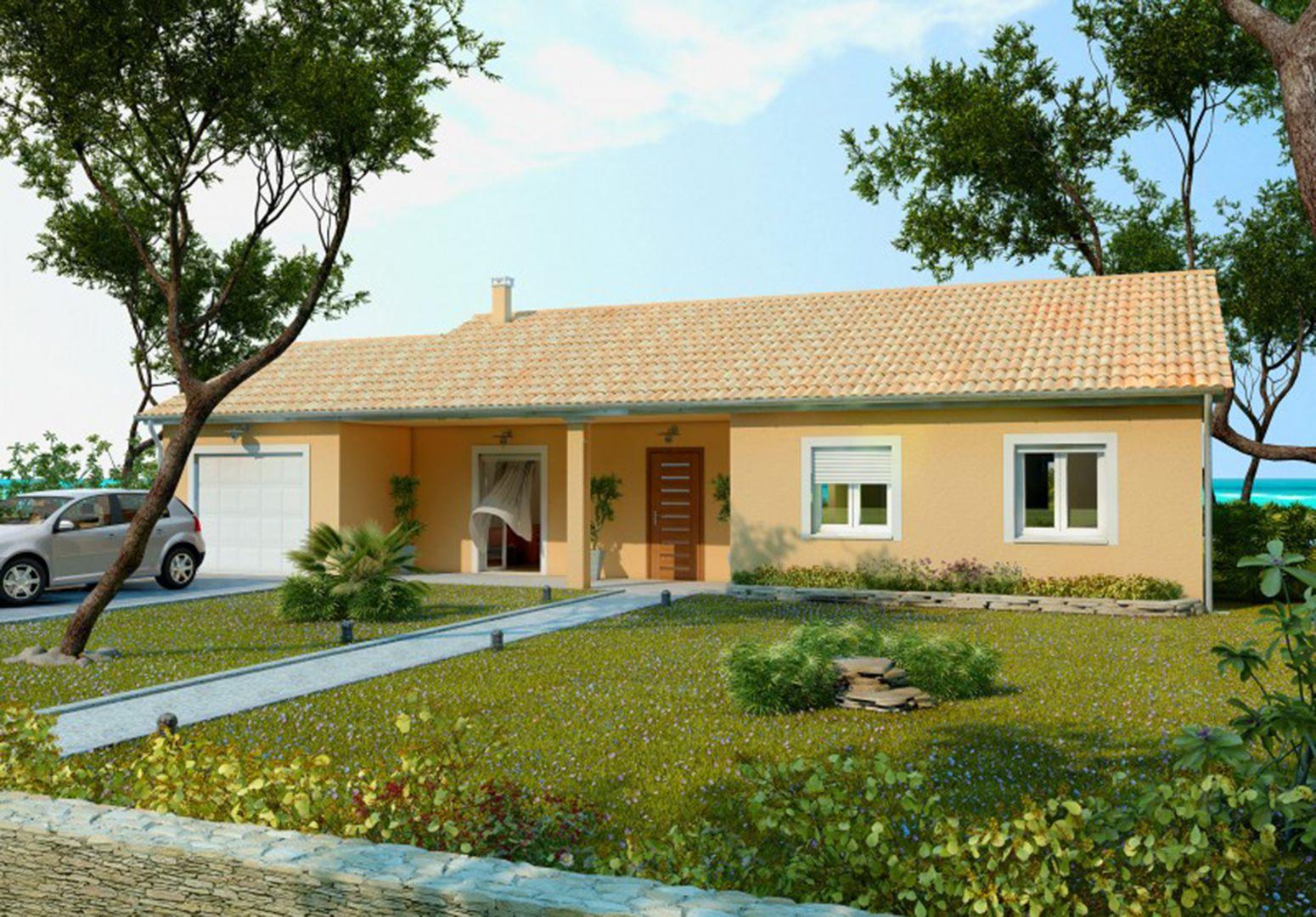 Maison 72.5 m² avec terrain à SAINTE-ANNE-SUR-GERVONDE (38) 1