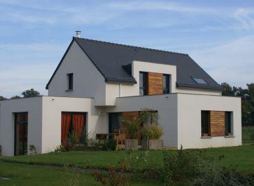 image de la construction de maison Médréac (35)