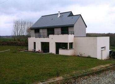 image de la construction de maison Guichen (35)