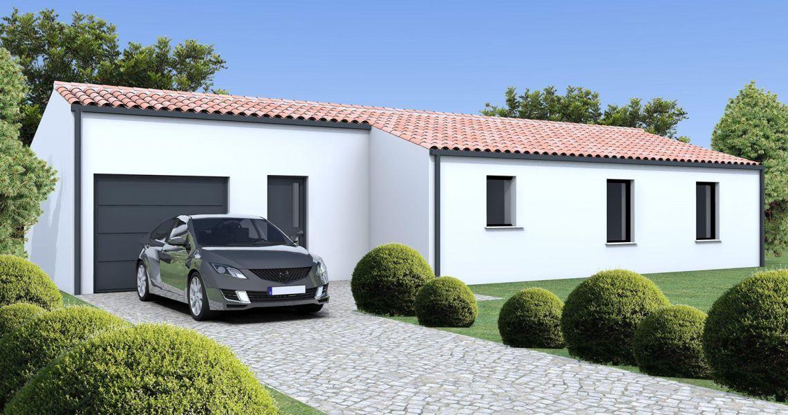 image Maison 79.98 m² avec terrain à BRAUD-ET-SAINT-LOUIS
