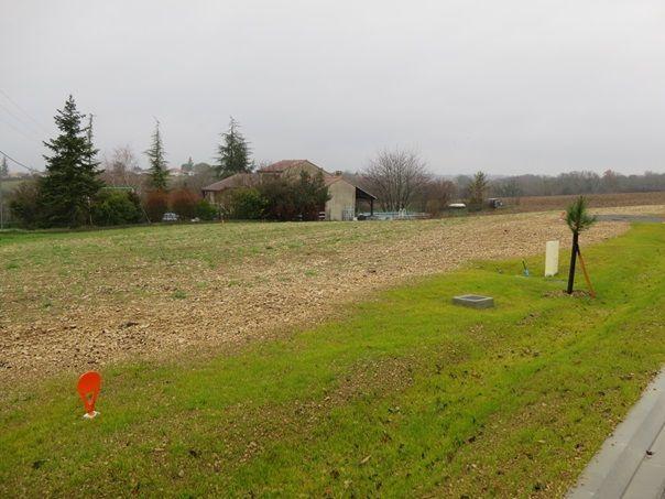Photo du terrain à bâtir de 800 m² <br><span>TOUVRE(16)