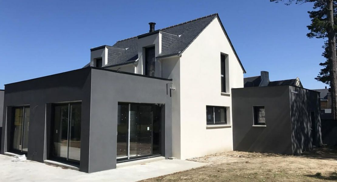image Livraison d'une construction de maison neuve à AVESSAC (44)