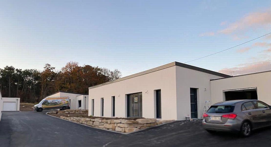 image Livraison d'une construction de maison neuve à REDON (35)