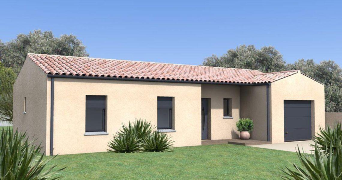 image Maison 114.69 m² avec terrain à SAINT-DENIS-DE-PILE (GIRONDE - 33)