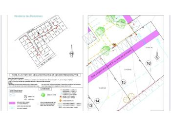Photo du terrain à bâtir de 420m²<br> à EPERNON (28)