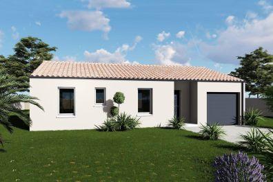 image offre-terrain-maison Maison 85.12 m² avec terrain à LES BILLAUX