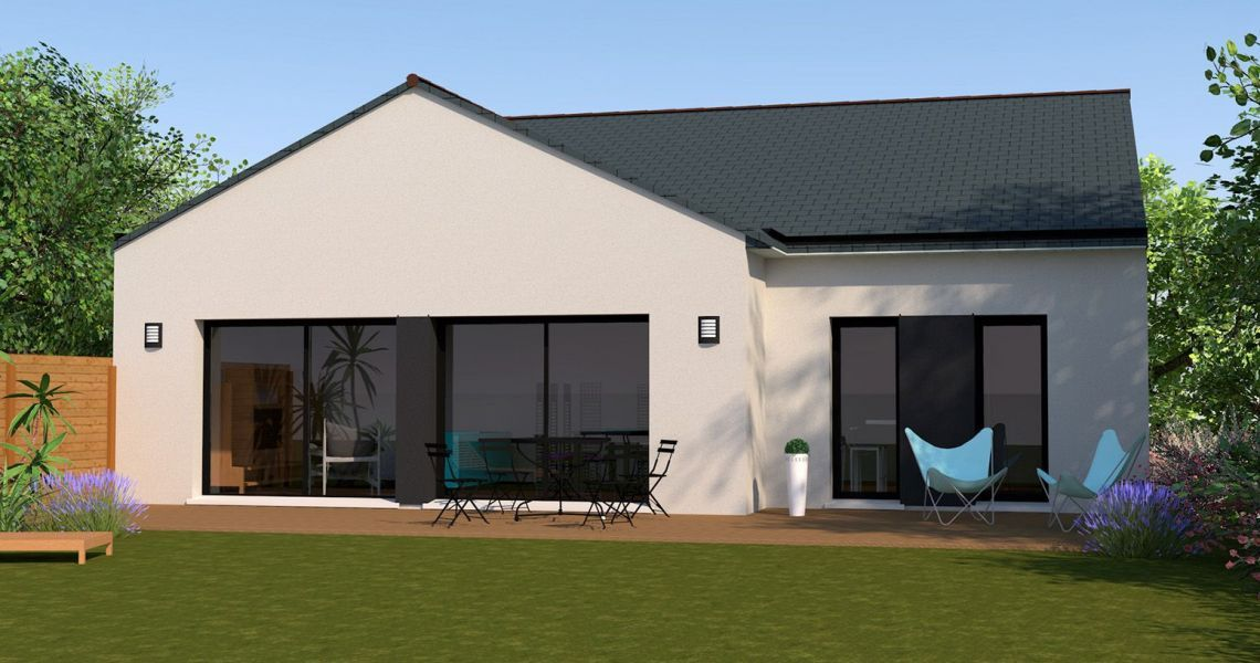 image Maison 106.03 m² avec terrain à GOSNE (35)