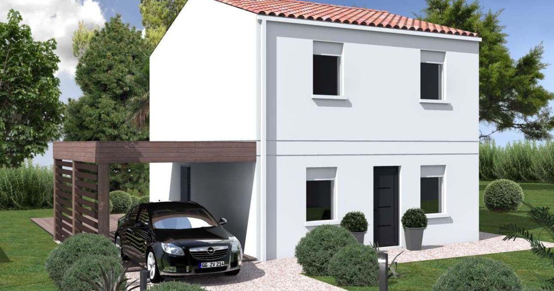 image Maison 82.74 m² avec terrain à SAINT-TROJAN