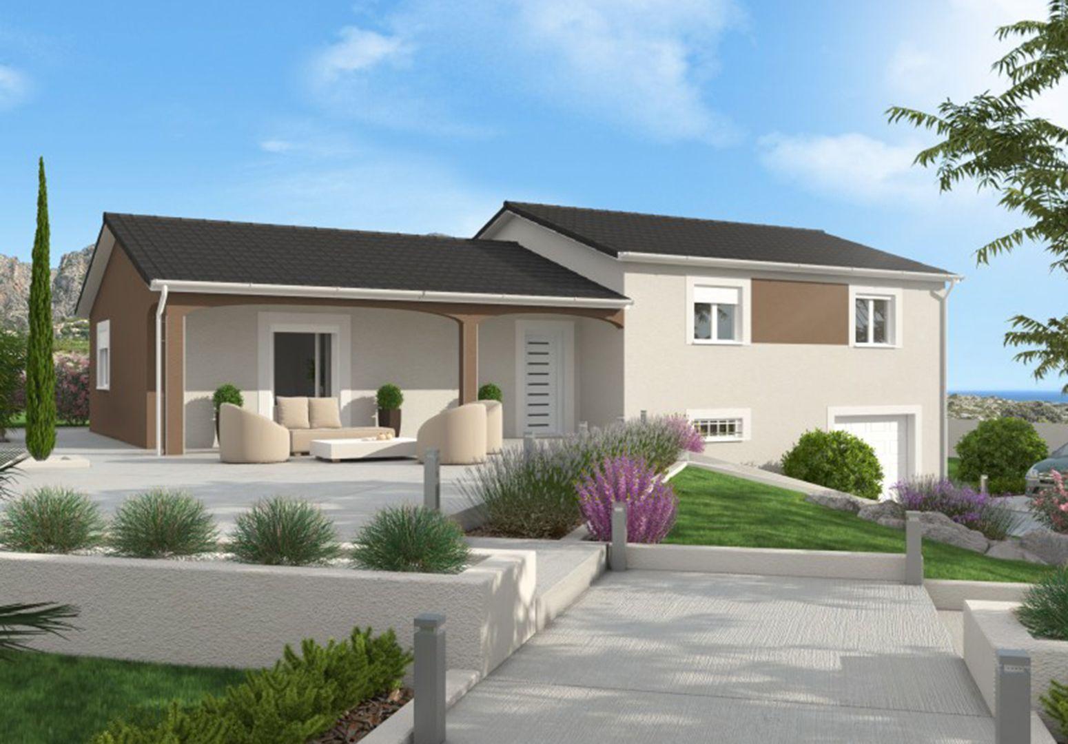 Maison 88.3 m² avec terrain à SAINTE-ANNE-SUR-GERVONDE (38) 1