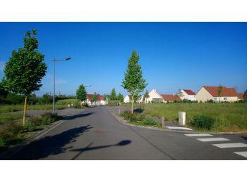 Photo du terrain à bâtir de 500m²<br> à COURVILLE-SUR-EURE (28)