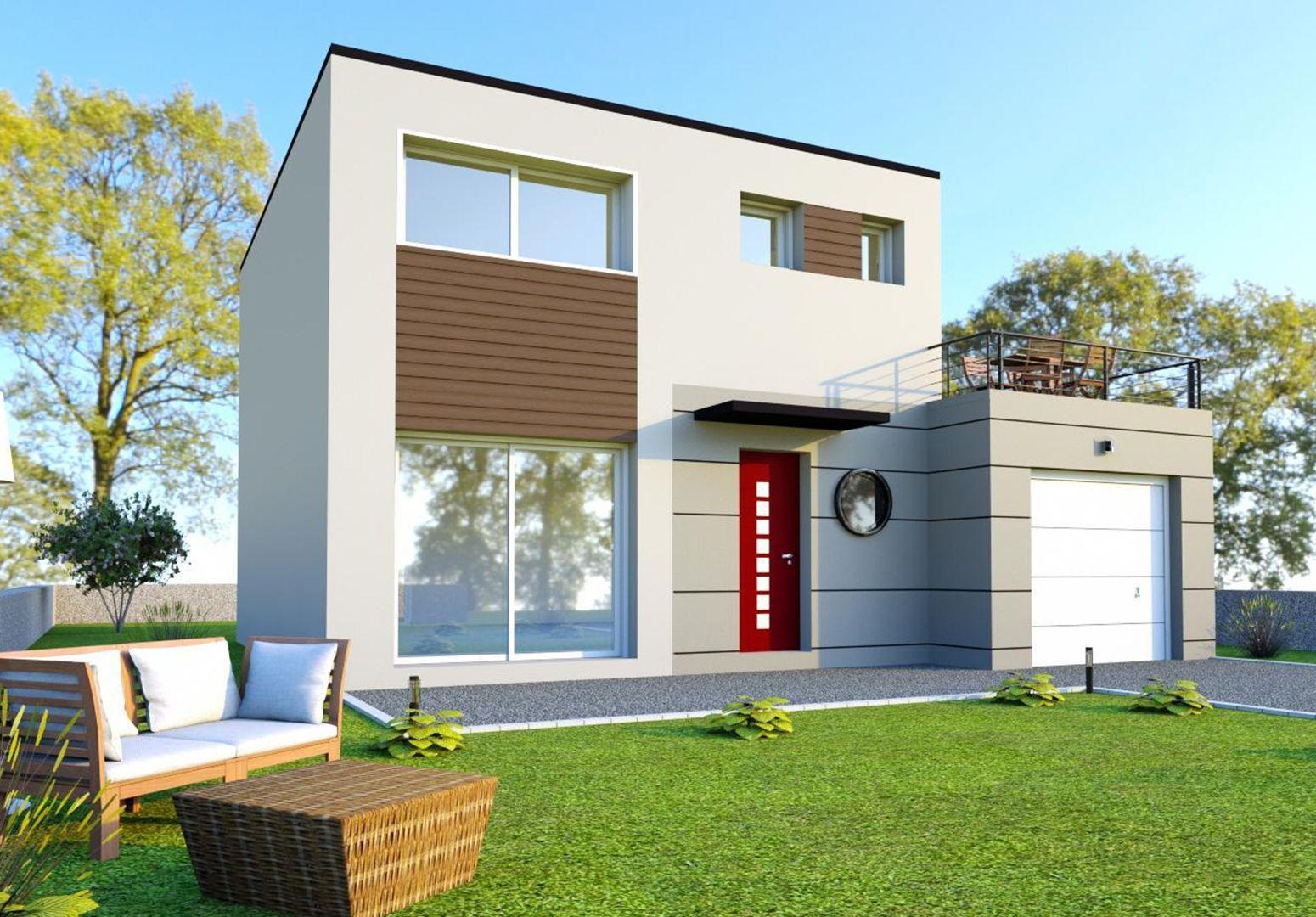 Image du modèle de maison LANGUEUX 5CH 165