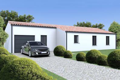 image offre-terrain-maison Maison 79.98 m² avec terrain à LES BILLAUX
