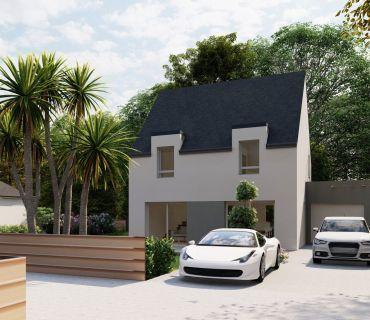Maison 110 m² avec terrain à LA NOUAYE (35)
