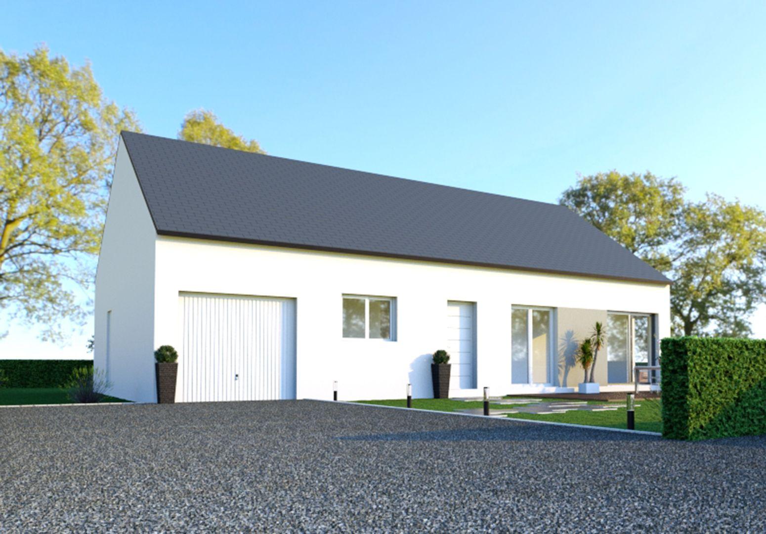 Image du modèle de maison TRÉMEUR 3CH 100