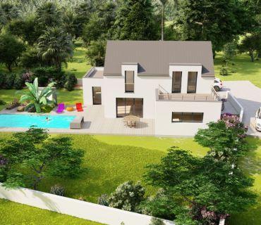 Maison 135 m² avec terrain à DOL-DE-BRETAGNE (35)