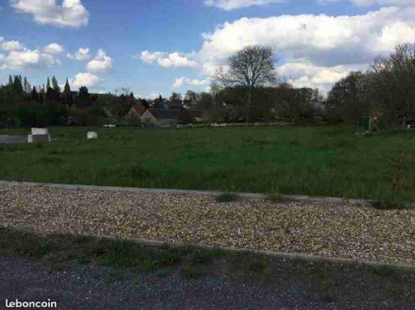 Photo du terrain à bâtir de 700 m² <br><span>SENILLE(86)