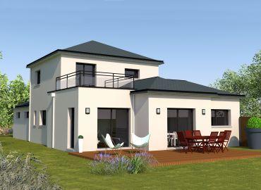 image offre-terrain-maison Maison 109.58 m² avec terrain à SAINT-SAMSON-SUR-RANCE (22)