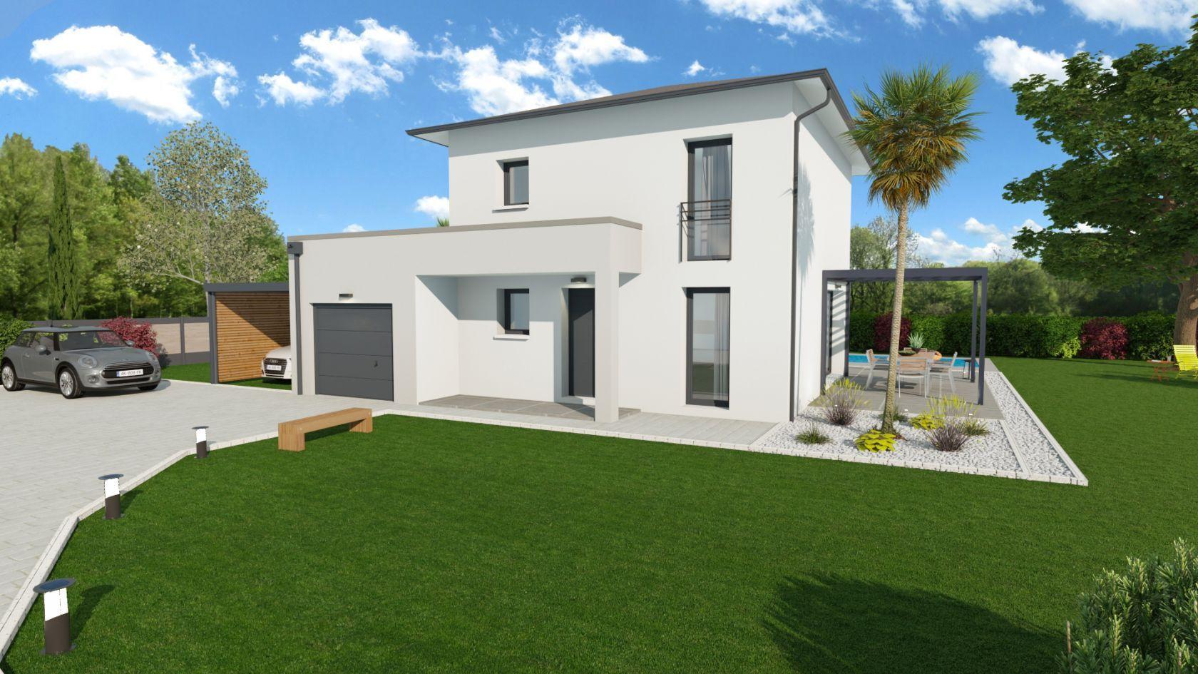 Maison 84.6 m² avec terrain à SAINTE-ANNE-SUR-GERVONDE (38) 1