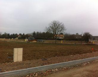 Photo du terrain à bâtir de 646 m² <br><span>CISSE(86)