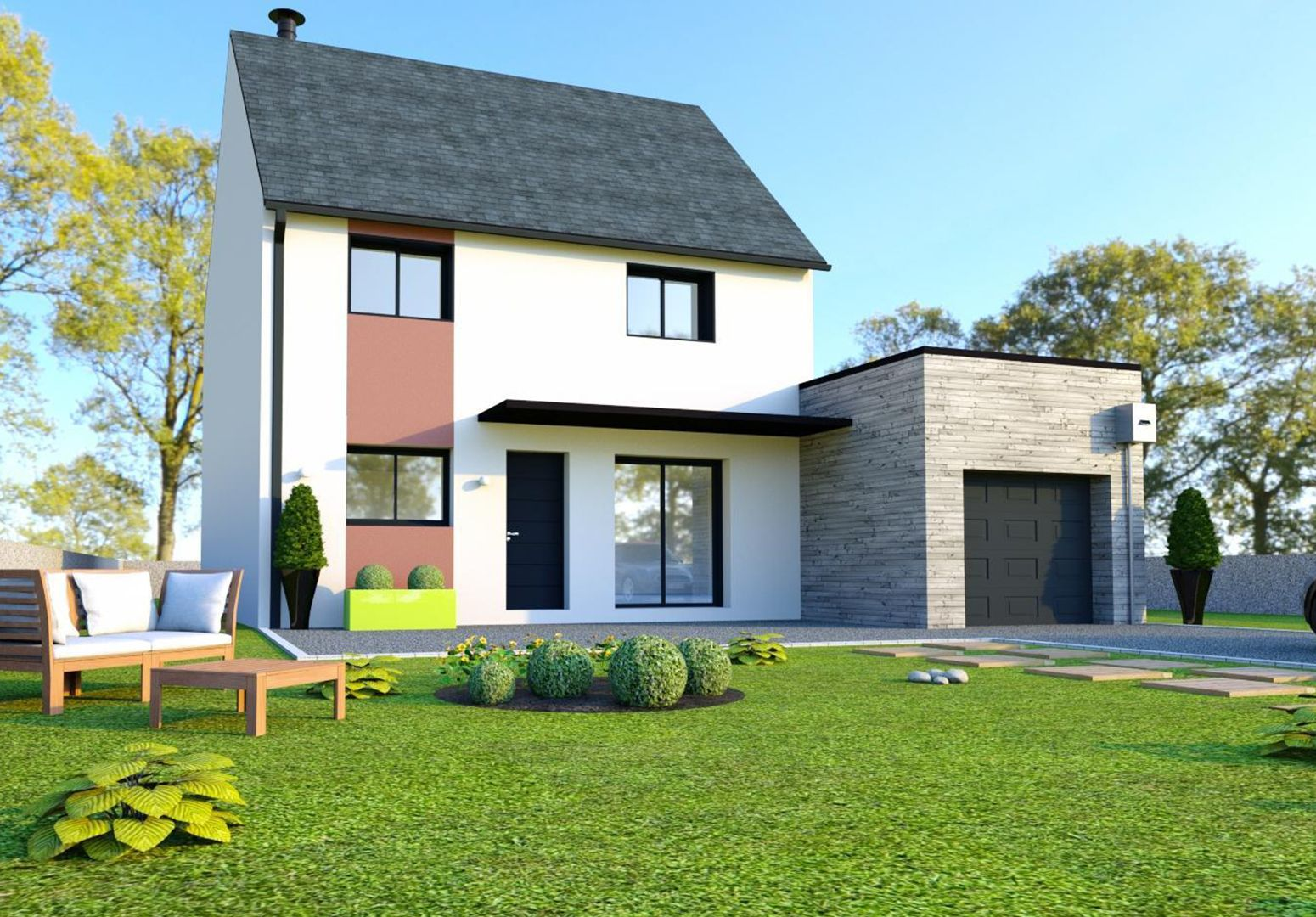 Image du modèle de maison LA MÉZIÈRE 4CH 125