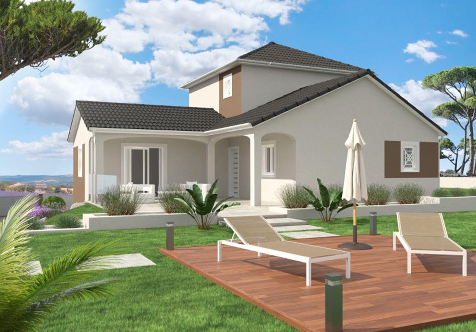 Maison 110.8 m² avec terrain à SAINTE-ANNE-SUR-GERVONDE (38) 1
