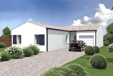 image offre-terrain-maison Maison 81.14 m² avec terrain à LES BILLAUX