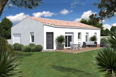 image offre-terrain-maison Maison 86.33 m² avec terrain à LES BILLAUX