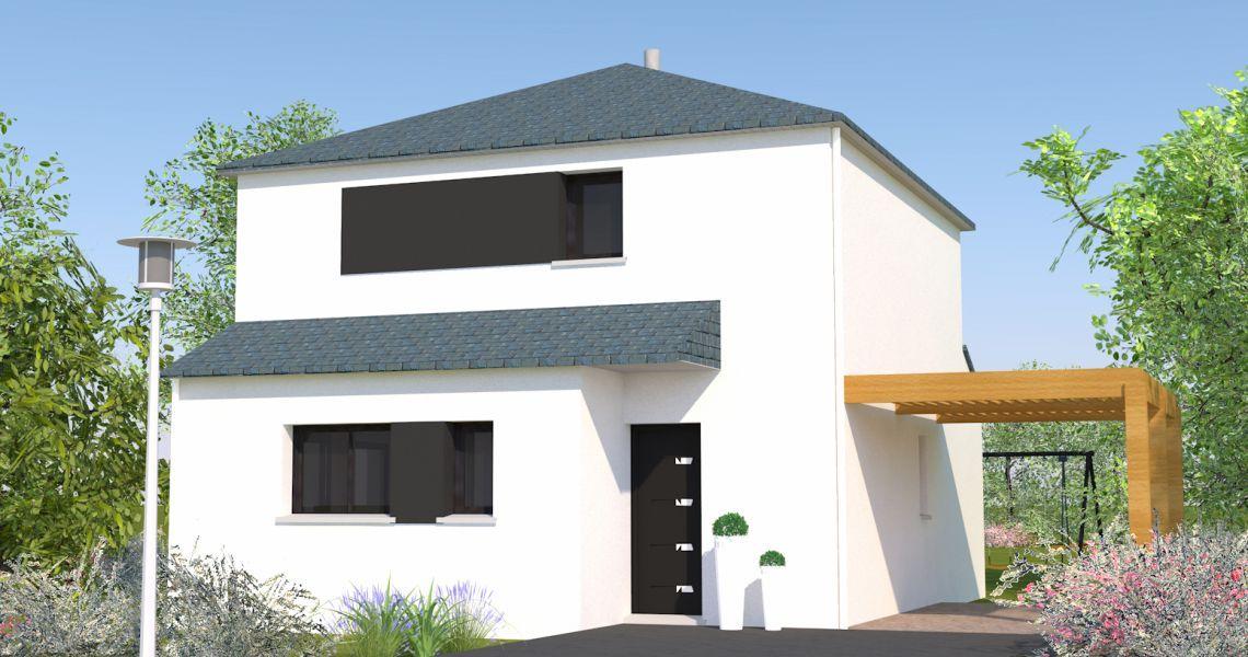 image Maison 104.93 m² avec terrain à JANZE (35)