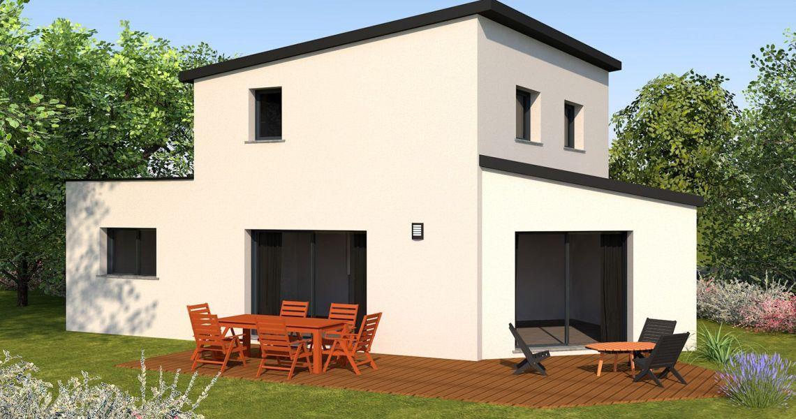 image Maison 107.46 m² avec terrain à JANZE (35)