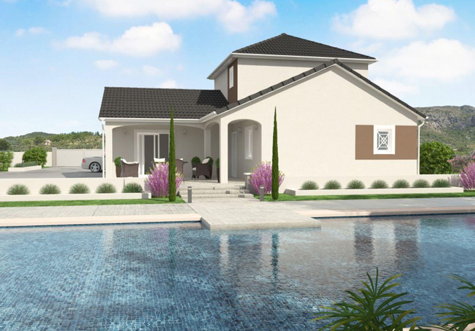 Maison 111.4 m² avec terrain à SAINTE-ANNE-SUR-GERVONDE (38) 1