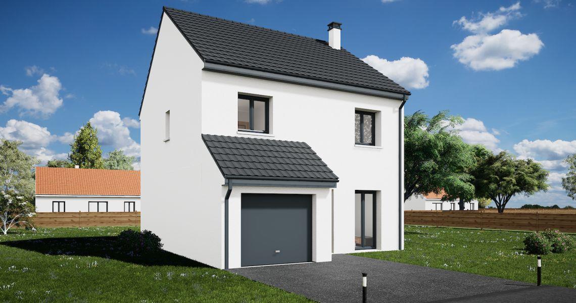 image Maison 95.63 m² avec terrain à LORRIS (45)