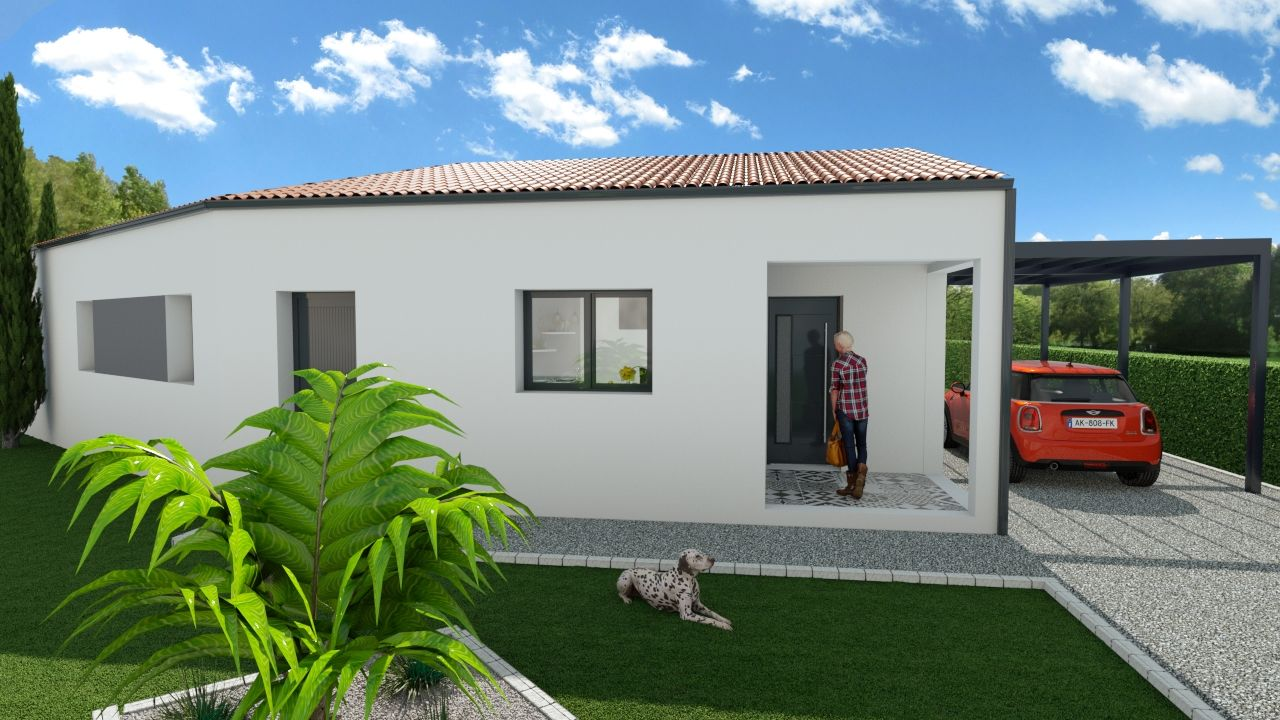 Photo de la maison n°1 de 105 m² à TROIS-PALIS